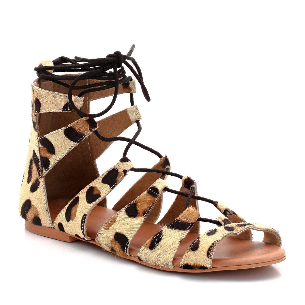 elblogdeanasuero,sandalias romanas,La Redoute bajas pelo de leopardo