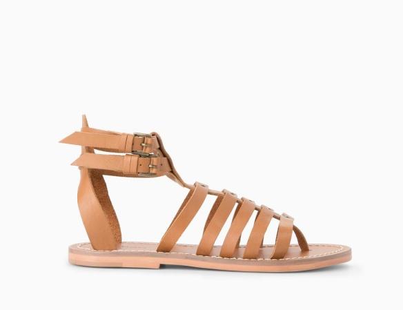 elblogdeanasuero-sandalias romanas-Mango bajas de piel marrón