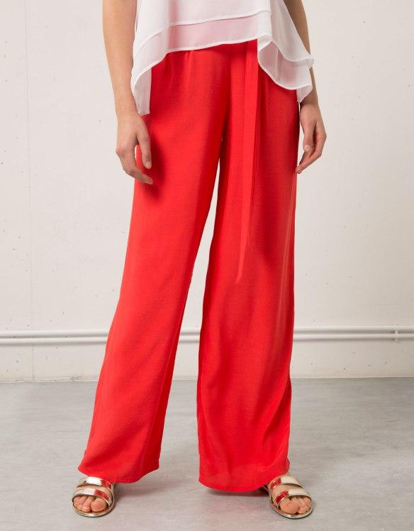 elblogdeanasuero_Pantalon Palazzo_Bershka pantalon palazzo rojo