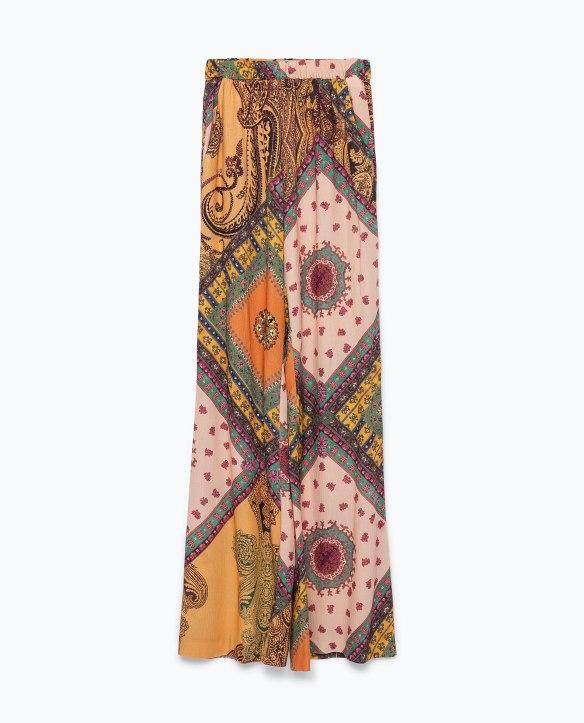elblogdeanasuero_Pantalon Palazzo_Zara estampado patchwork colores