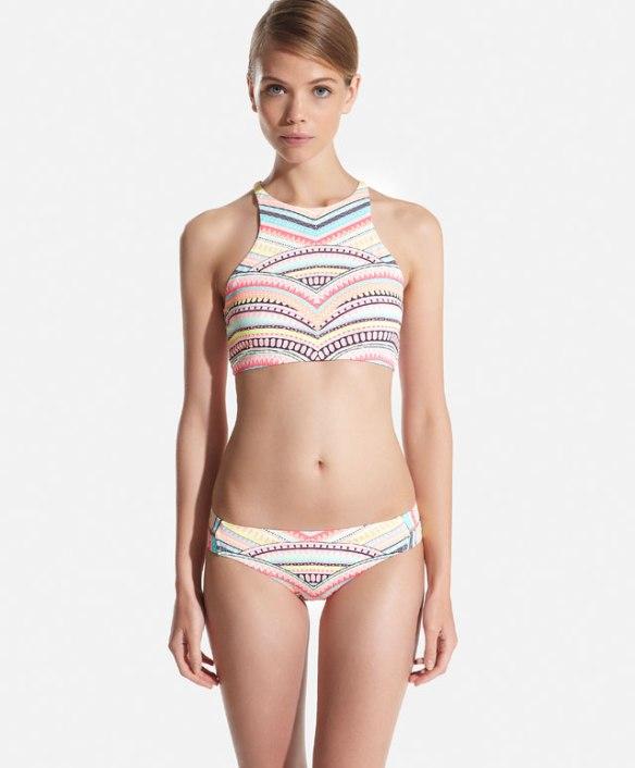 elblogdeanasuero_Bikinis 2015_Oysho bikini halter estampado étnico