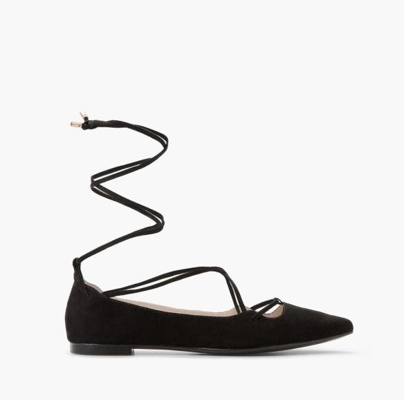 elblogdeanasuero-Bailarinas atadas-Mango bailarina atada al tobillo negra