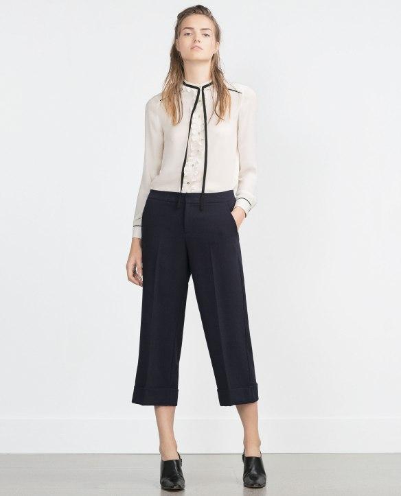 elblogdeanasuero-Pantalón culotte-Zara pantalón culotte con pinzas azul marino