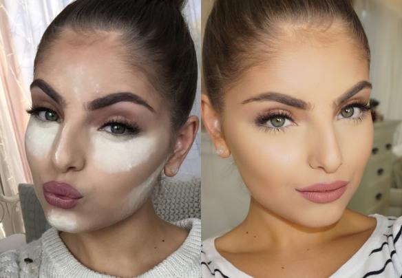 el blog de ana suero-Baking maquillaje-Heidi Hamoud