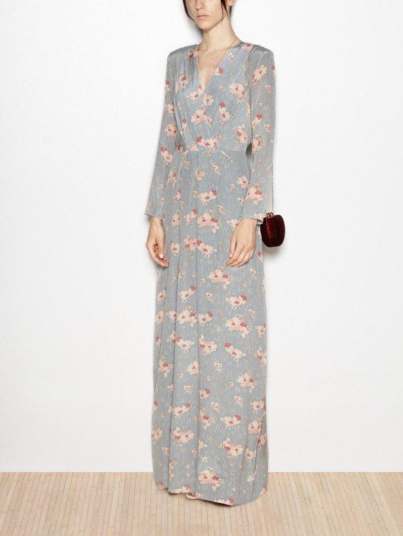 el blog de ana suero-vestidos para invitadas a una boda en otoño invierno-Hoss vestido largo seda estampado flores