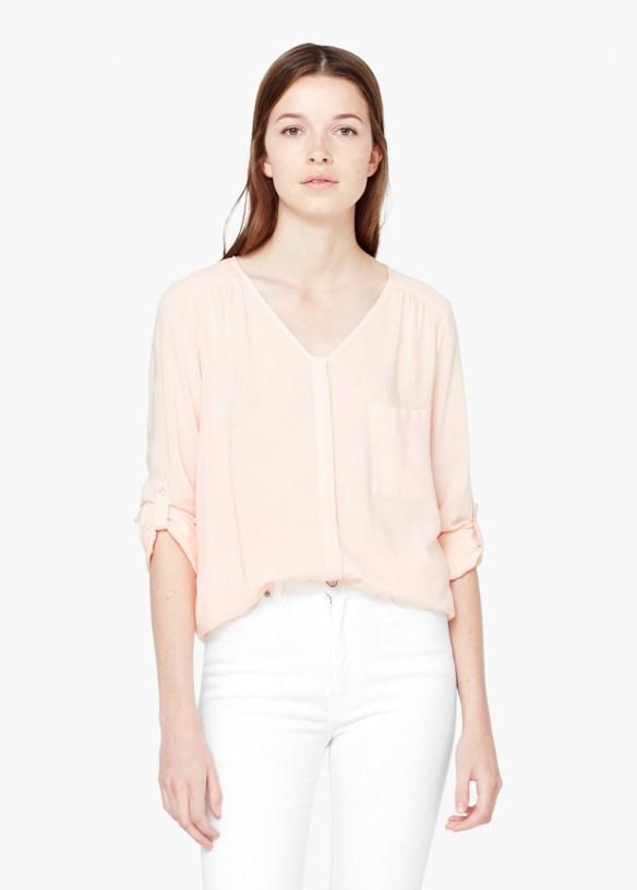 el-blog-de-ana-suero_Rosa cuarzo color pantone 2016-Mnago blusa rosa fluida