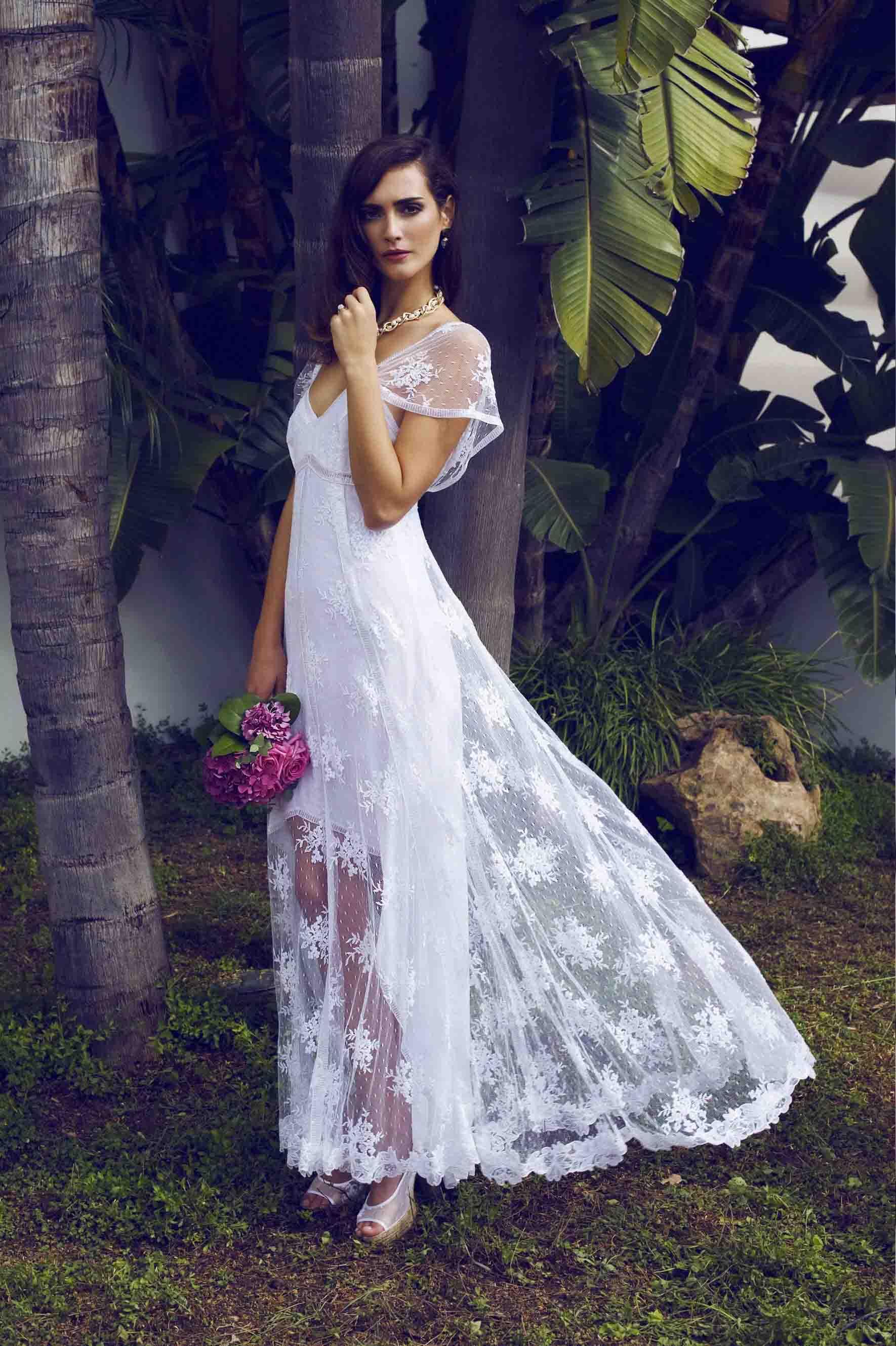Vestido de novia boho | El blog de Ana Suero