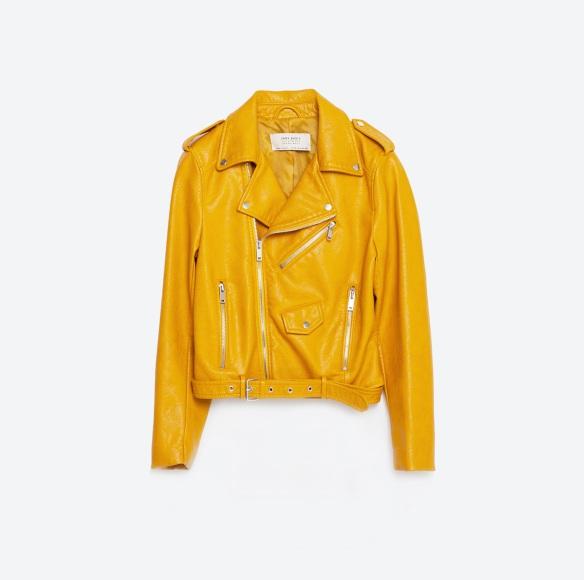 el blog de ana suero-Bikers de moda 2016-Zara amarilla corta bolsillos