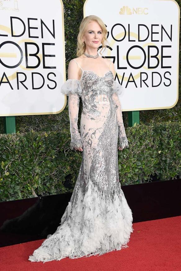 Nicole Kidman Globos de Oro 2017