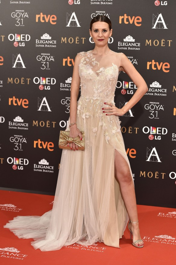 Elena Ballesteros de Monique Lhuillier