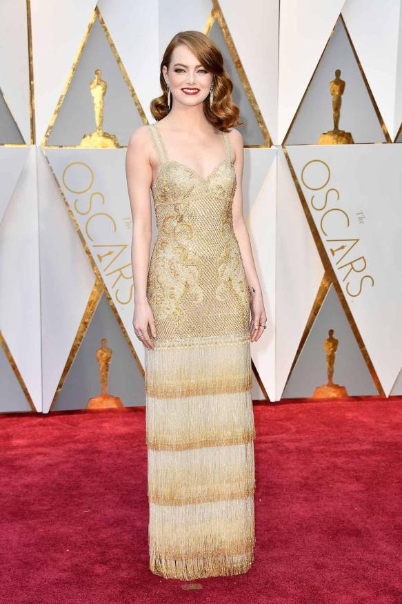 Emma Stone de Givenchy